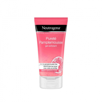 NEUTROGENA gel nettoyant exfoliant pamplemousse rose