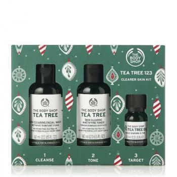 THE BODY SHOP Tea tree 123 kit spécial Noêl