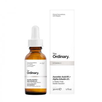 THE ORDINARY Solution Acide Ascorbique 8% + Alpha Arbutine 2%
