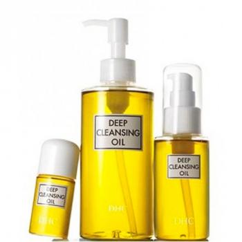 DHC Deep Cleansing Oil Huile démaquillante visage et yeux
