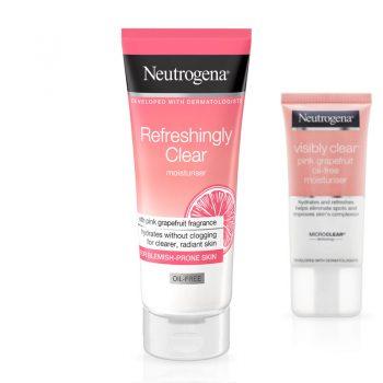 NEUTROGENA Soin hydratant anti-tâches non gras pamplemousse rose