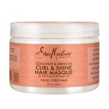 Shea Moisture Coconut Hibiscus Curl Shine Hair Masque