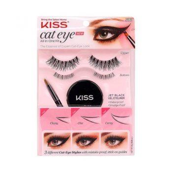 KISS KIt de faux cils Cat Eye All-In-One