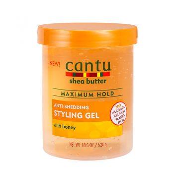 CANTU Anti-Shedding Gel Fixation Maximale Anti-casse au Miel