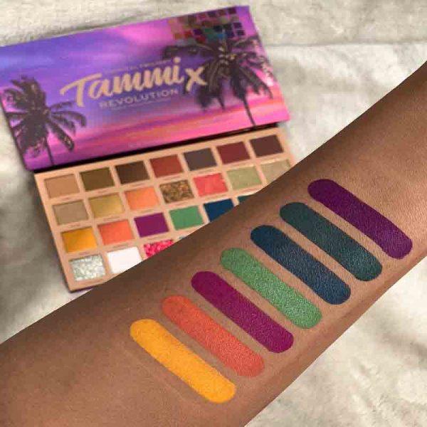 MAKEUP REVOLUTION X TAMMI Tropical Twilight Palette