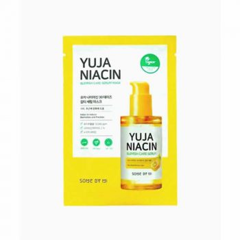 SOME BY MI Yuja Niacin 30 Days Serum Masque en Tissu Eclaircissant Anti-age