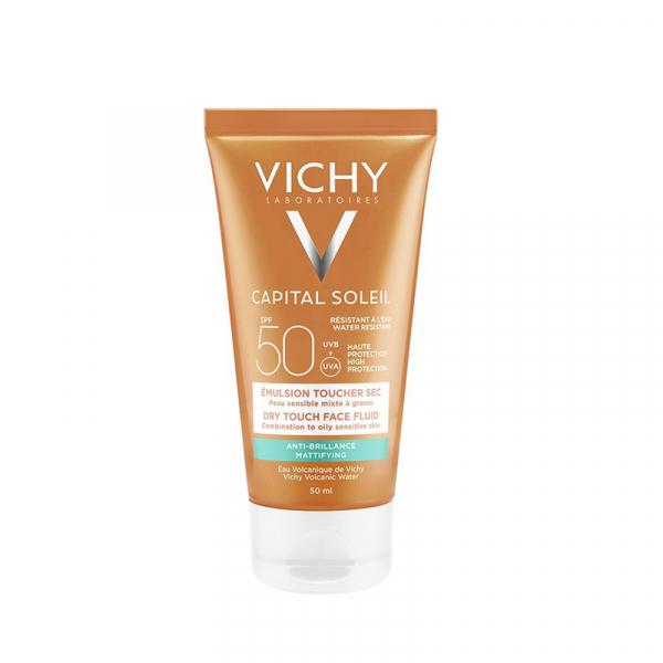 VICHY Capital Soleil Emulsion Toucher Sec SPF 50