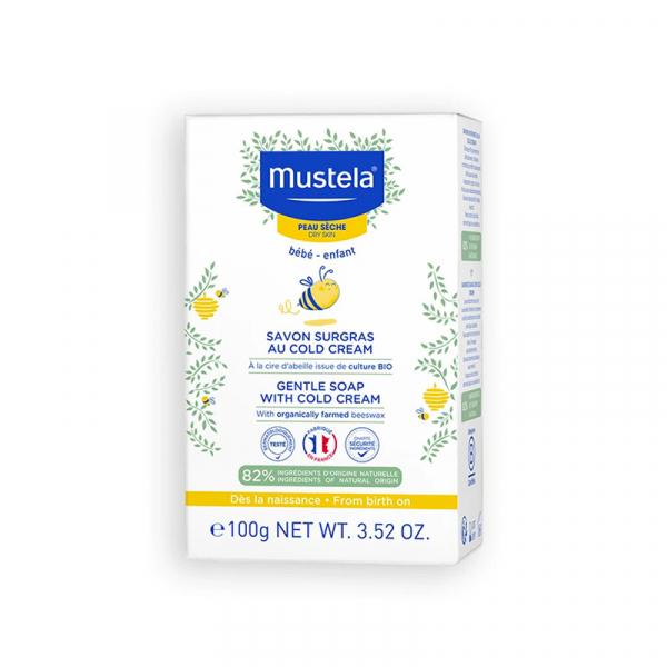 MUSTELA Savon Surgras Cold Cream Bébé & Enfant